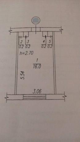 Комната 16м² в null-к, 3/4 эт