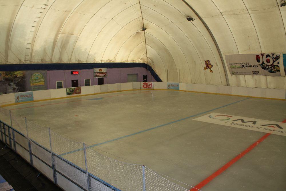 Воздухоопорная конструкция (купол) каток, корты