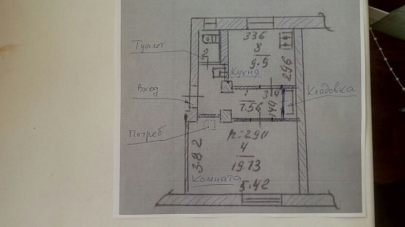Продам однокомнатную квартиру ул. Советская 4
